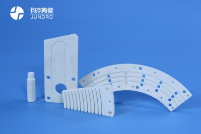 氧化铝陶瓷结构件电弧焊和测量热导率